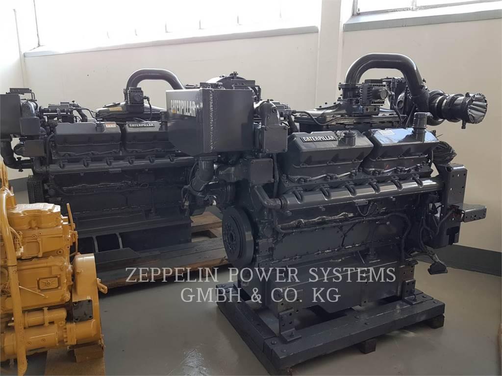 Caterpillar G3412 BIOGAS ENGINE, Groupes électrogènes Stationnaires, Équipement De Construction