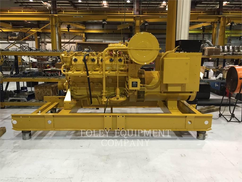 Caterpillar G3412EP, Stationary Generator Sets, Construction