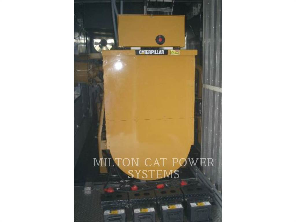 Caterpillar G3512, mobile generator sets, Construction