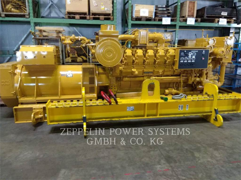 Caterpillar G3516 PPO G1000, Stationary Generator Sets, Construction