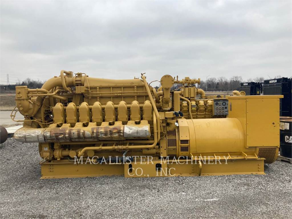 Caterpillar G3516C, Stationary Generator Sets, Construction