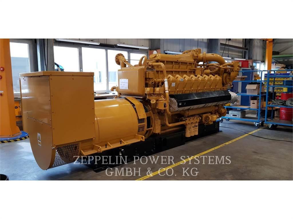 Caterpillar G3516E, Stationary Generator Sets, Construction