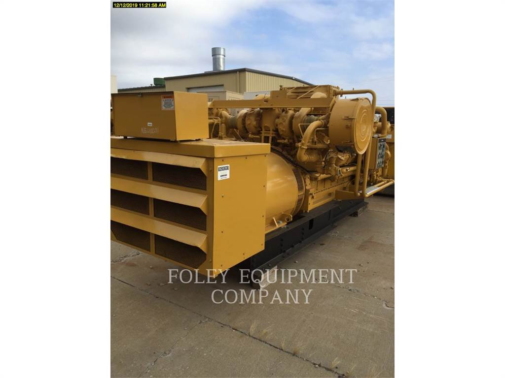Caterpillar G3516EP, Stationary Generator Sets, Construction