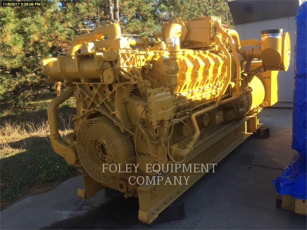 Caterpillar G3516EP, Stationary Generator Sets, Construction