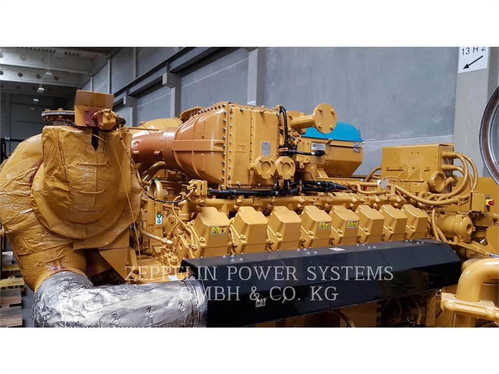 Caterpillar G3516H UNUSED 3PCS, Stationary Generator Sets, Construction