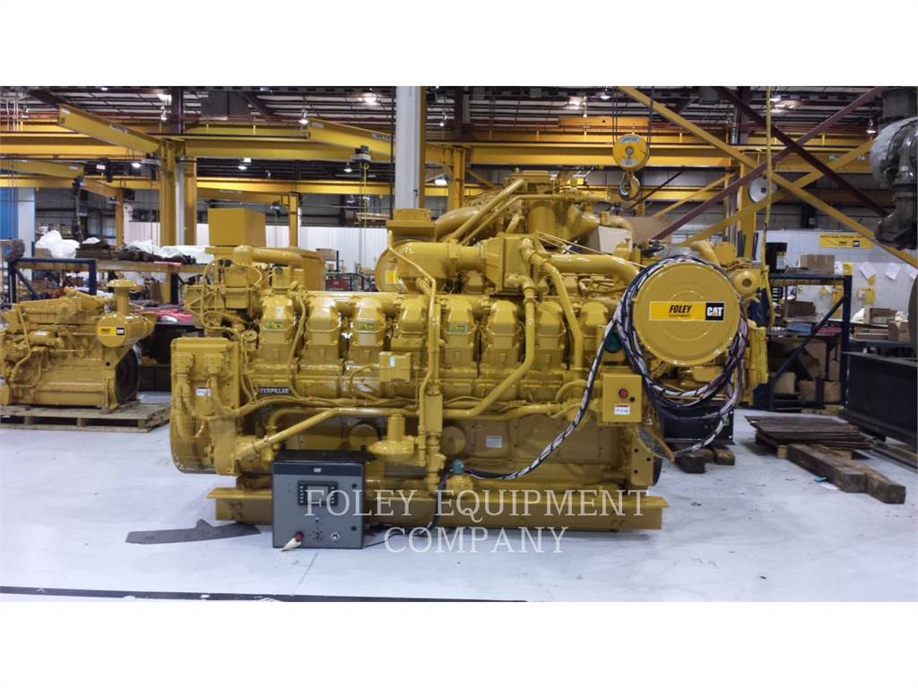 Caterpillar G3516IN, Industrial engines, Constructii