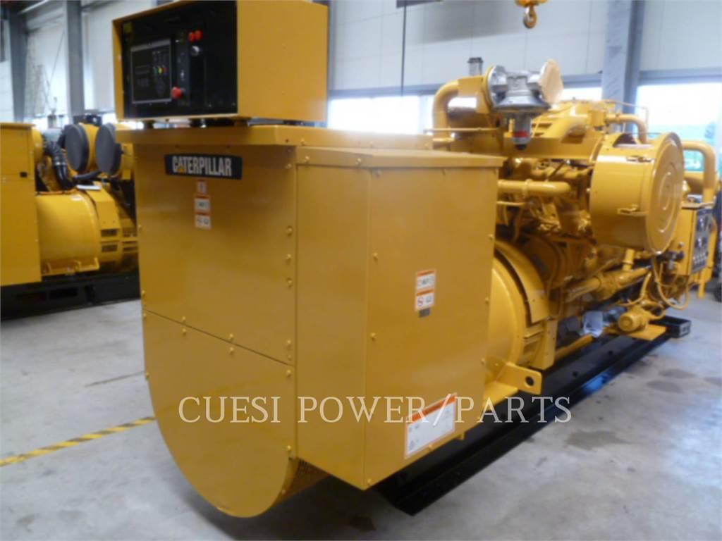 Caterpillar G3516TA LE, Stationary Generator Sets, Construction