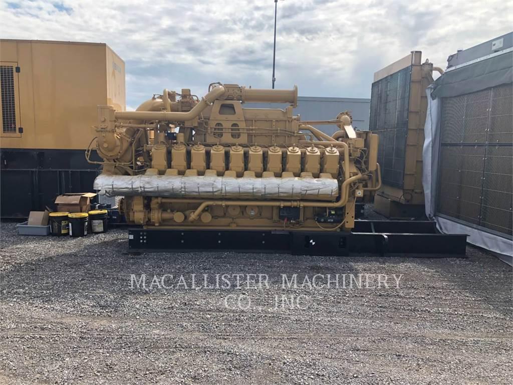 Caterpillar G3520, Seturi de Generatoare Diesel, Constructii