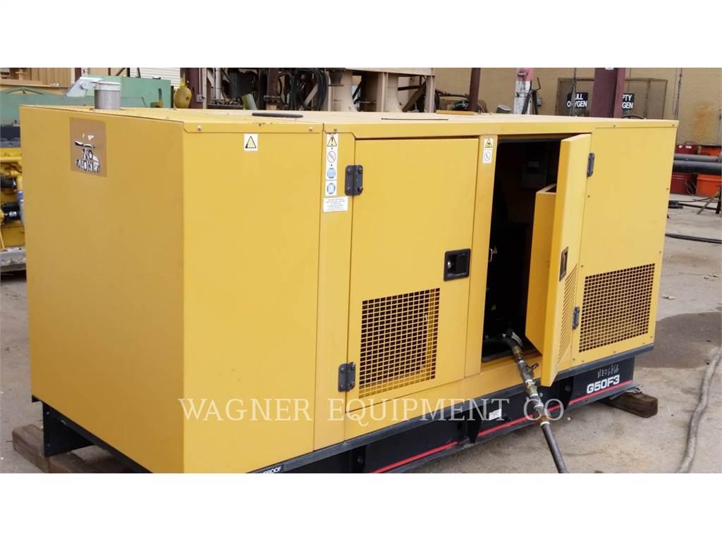 Caterpillar G50F3、固定式発電機セット、建設