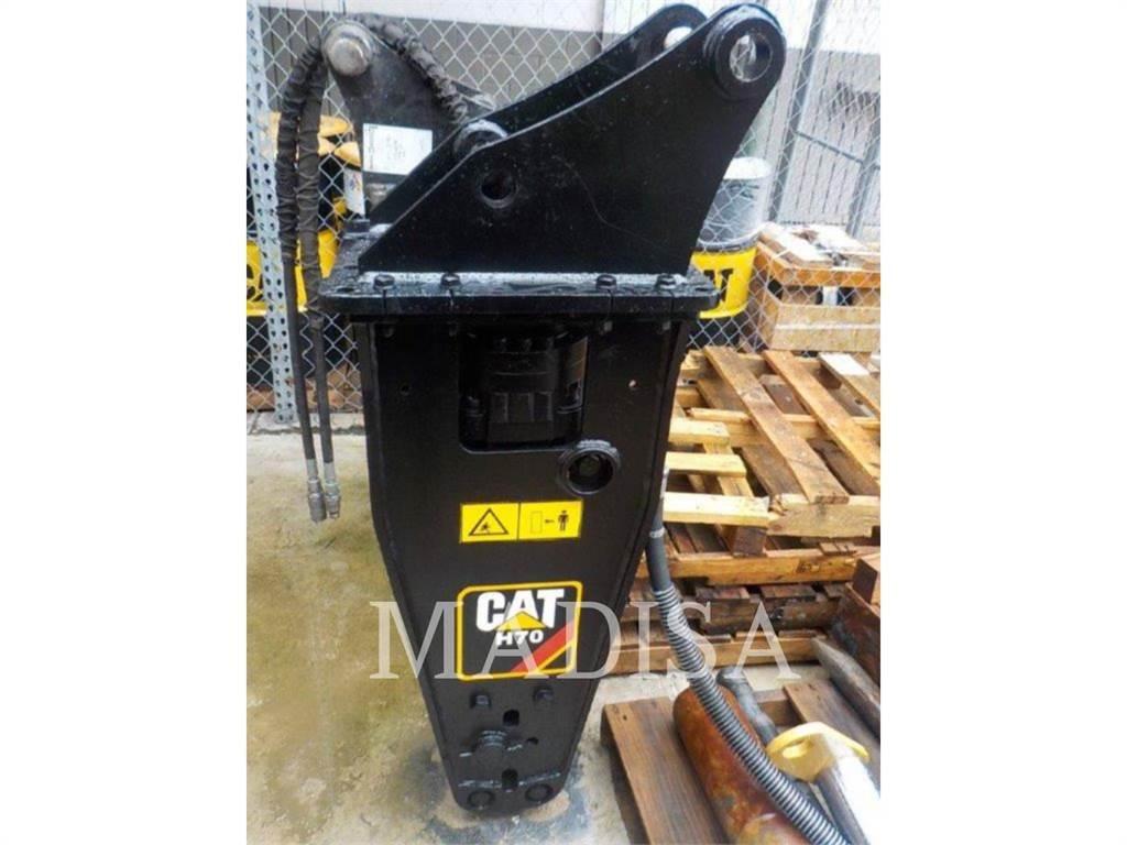 Caterpillar H 70 S FLAT-TOP, marteaux hydrauliques, Équipement De Construction