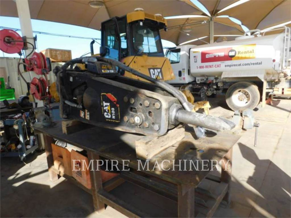 Caterpillar H100, hammer, Construction