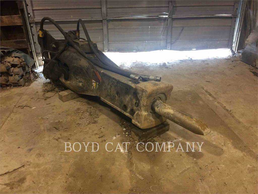 Caterpillar H115, hammer, Construction