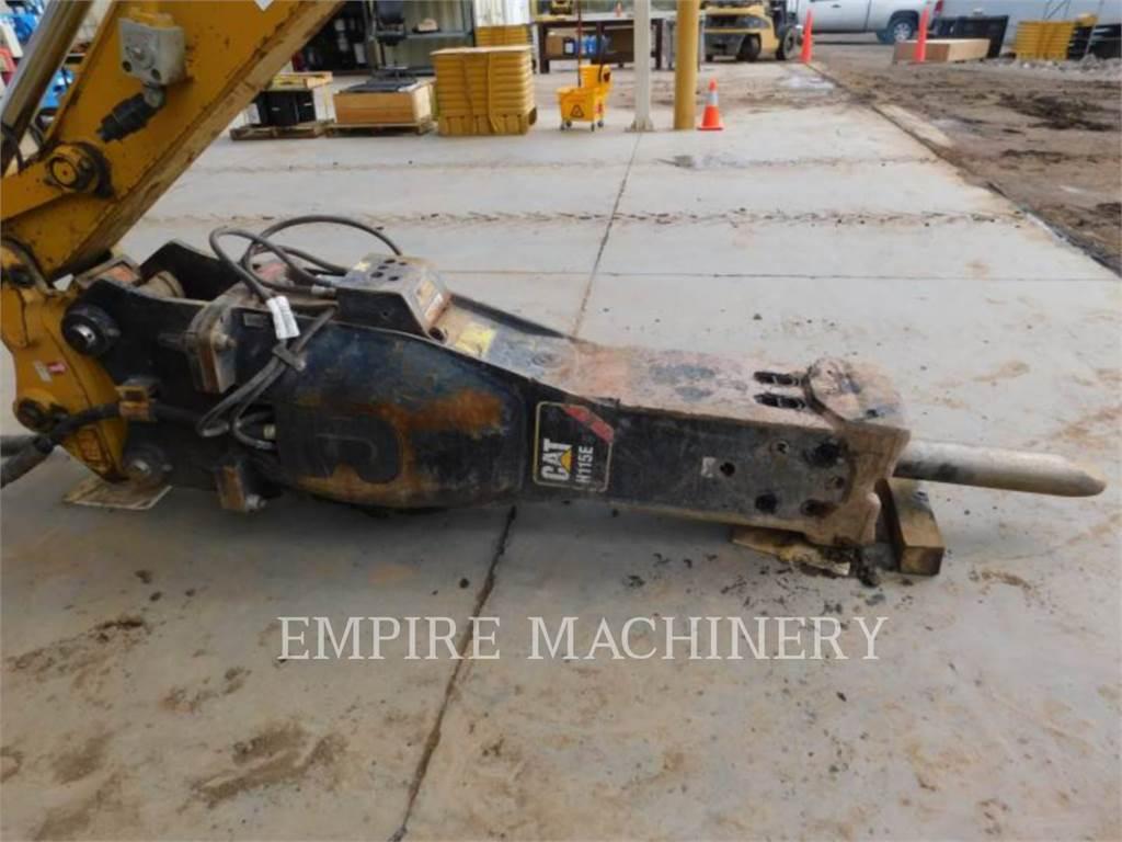 Caterpillar H115ES, herramienta de trabajo - martillo, Construcción