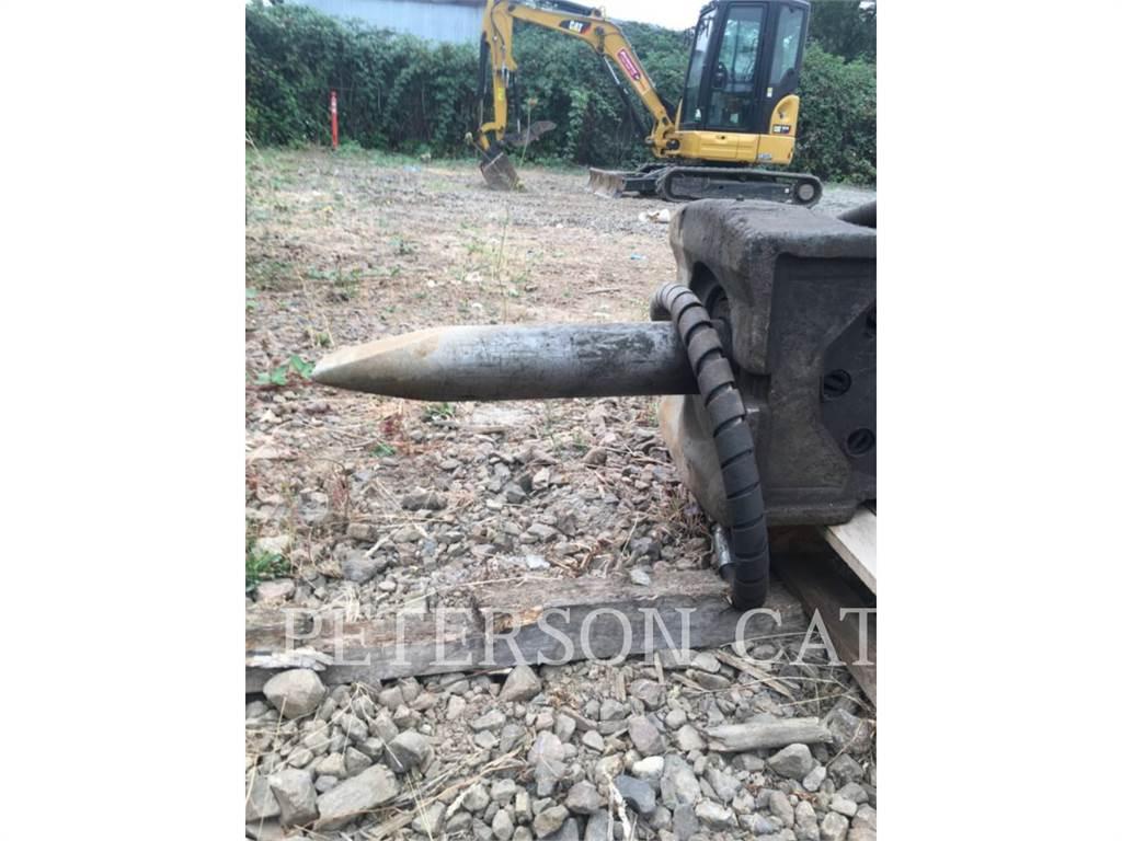Caterpillar H120E 320, hammer, Construction