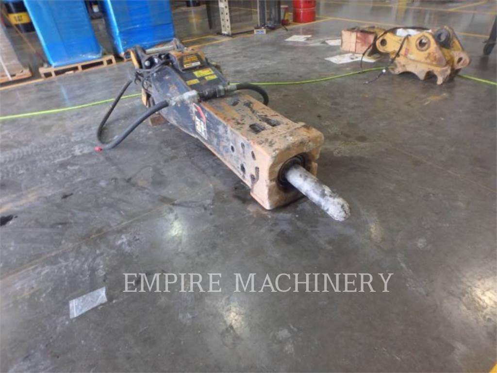 Caterpillar H120ES, herramienta de trabajo - martillo, Construcción