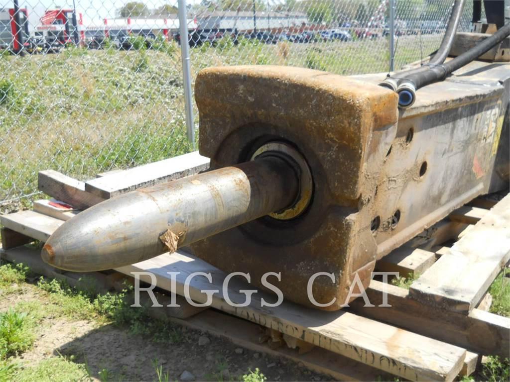 Caterpillar H140E S, herramienta de trabajo - martillo, Construcción