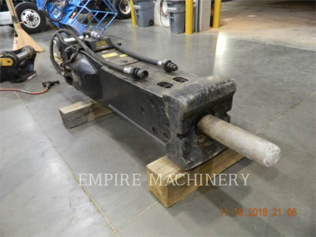 Caterpillar H140ES, hammer, Construction