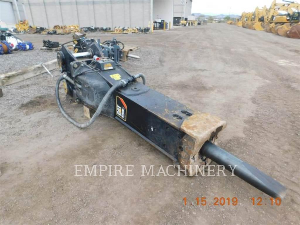 Caterpillar H160ES、ハンマー、建設