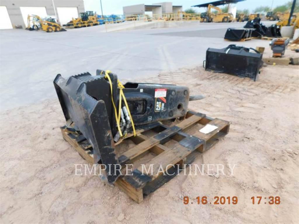 Caterpillar H55E SSL, hamer, Bouw