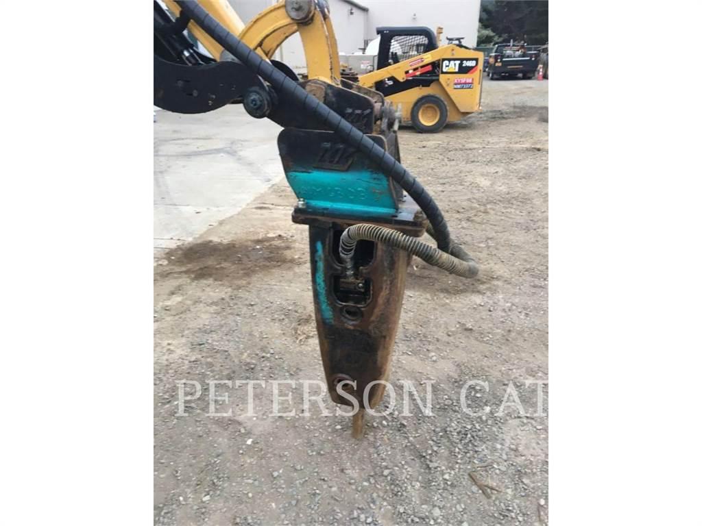 Caterpillar H55ES WR, hammer, Construction