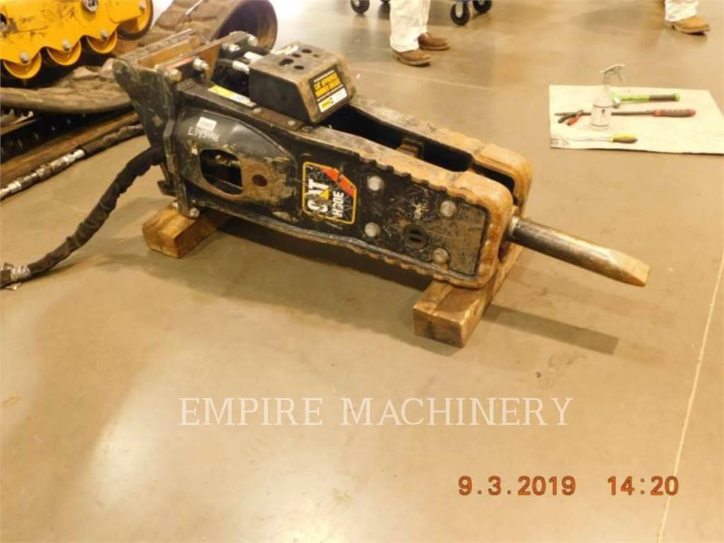 Caterpillar H80E 308E、ハンマー、建設