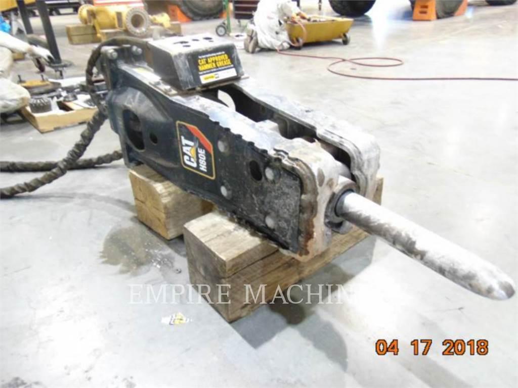 Caterpillar H80E 420、ハンマー、建設