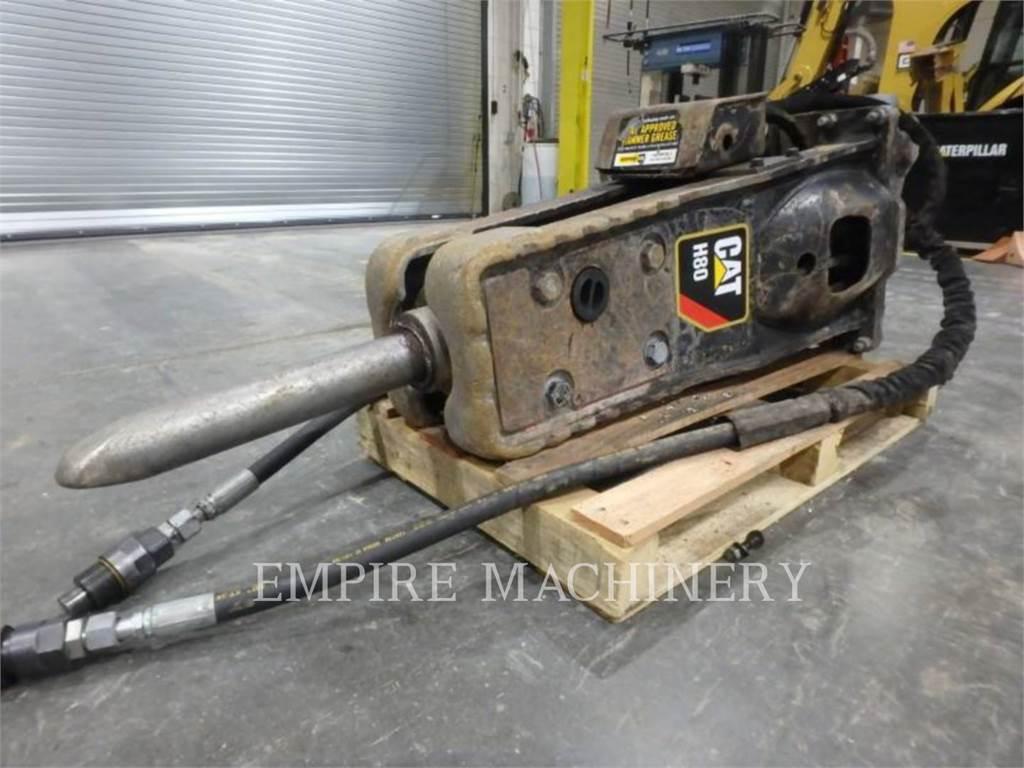 Caterpillar H80E 420, hammer, Construction