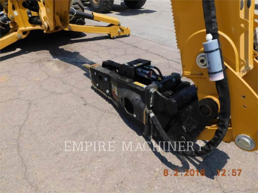 Caterpillar H80E 420, narz. rob.- młot, Sprzęt budowlany