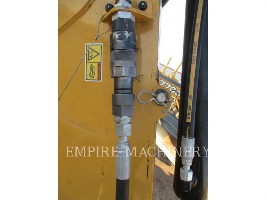 Caterpillar H80E BHL、ハンマー、建設