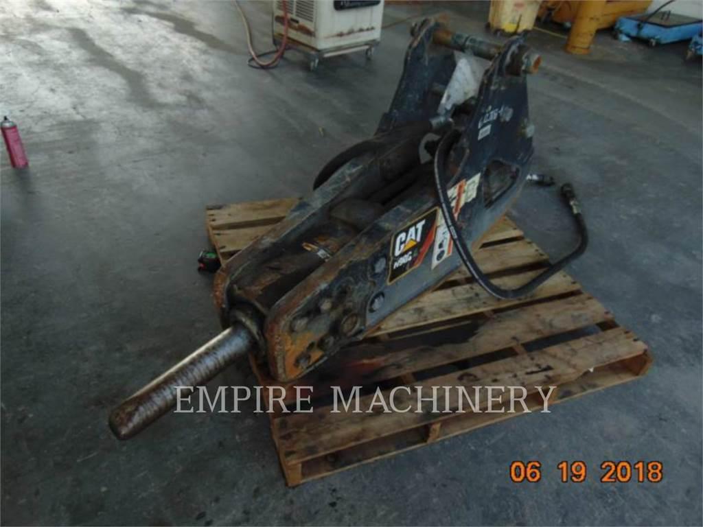 Caterpillar H90C, herramienta de trabajo - martillo, Construcción