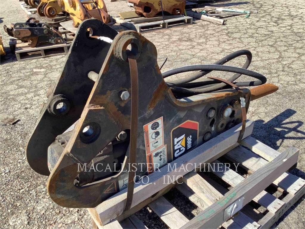 Caterpillar H90C, hammer, Construction