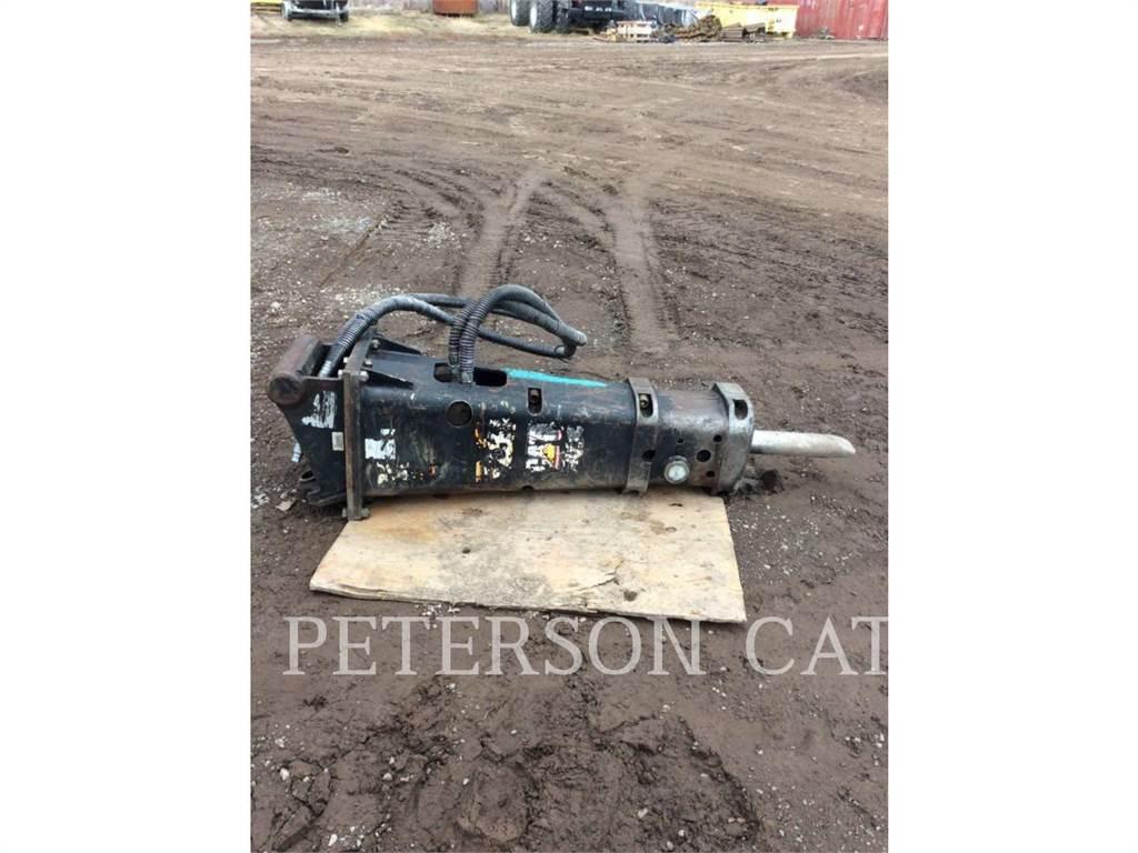 Caterpillar H90C WR1/4, hammer, Construction