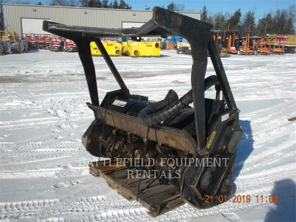 Caterpillar HM415B, mulcher, Forestry Equipment