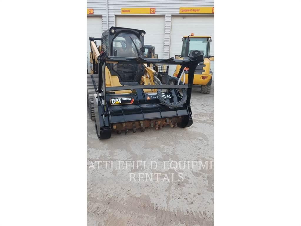 Caterpillar HM415C, mulcher, Forestry Equipment