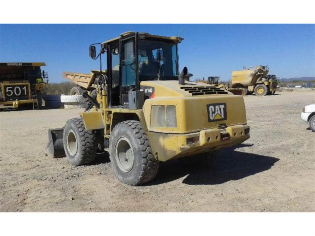 Caterpillar IT14G, Wheel Loaders, Construction
