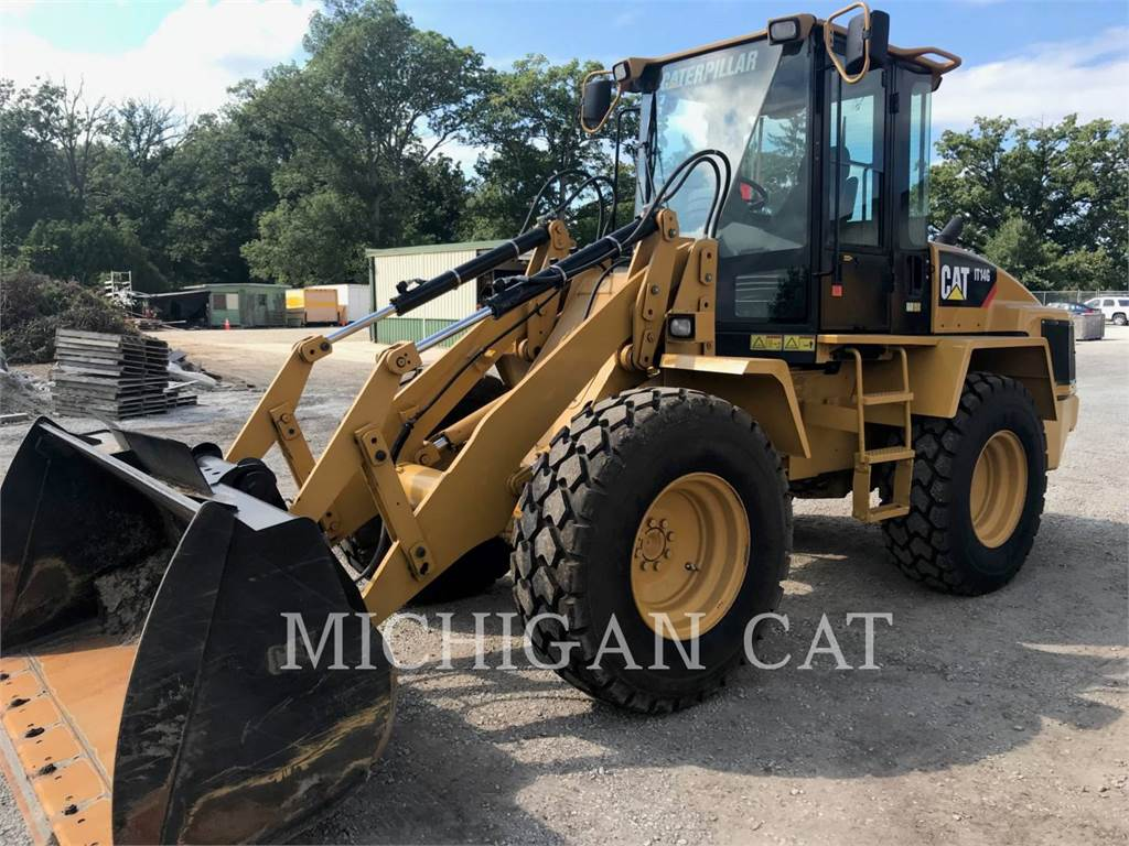 Caterpillar IT14G, Wheel Loaders, Construction