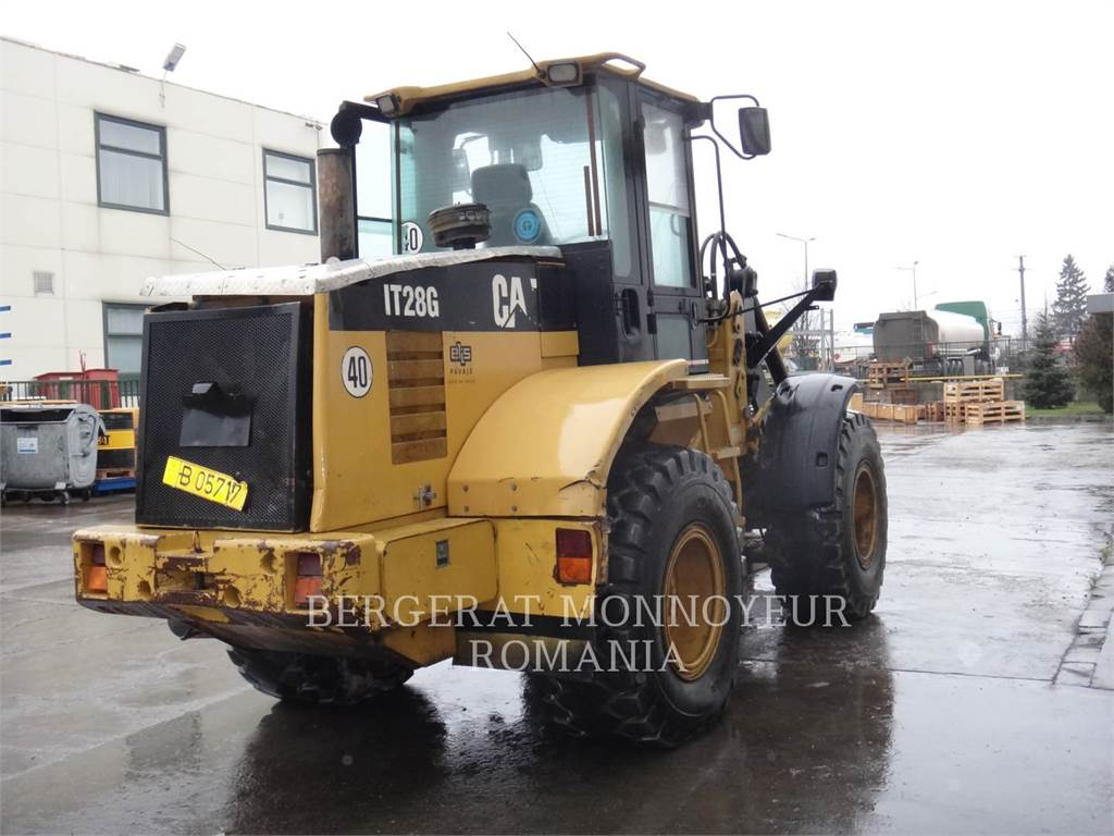 Caterpillar IT28G, Incarcator pe pneuri, Constructii