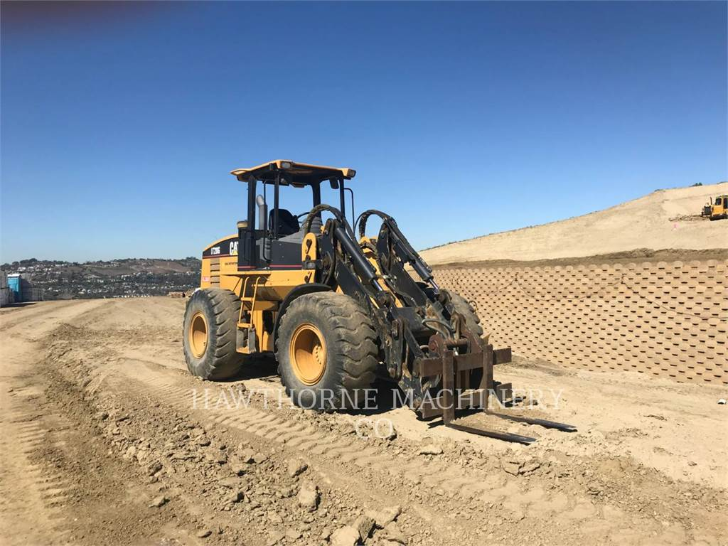 Caterpillar IT28G, Incarcator pe pneuri, Constructii
