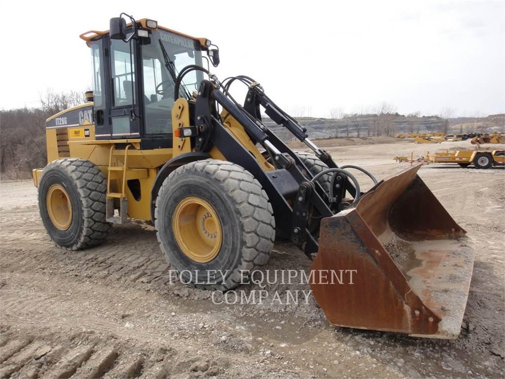 Caterpillar IT28G, Ładowarki kołowe, Sprzęt budowlany