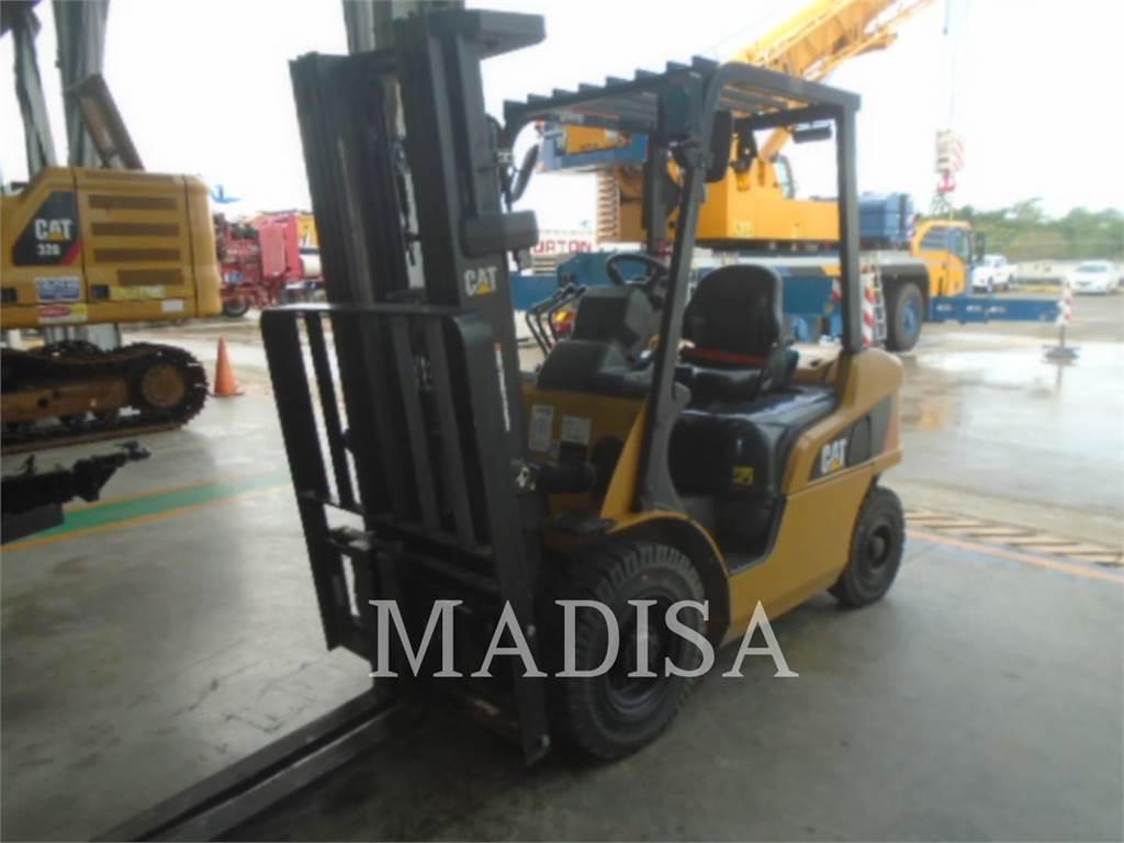 Caterpillar LIFT TRUCKS 2PD5000, Chariots diesel, Manutention