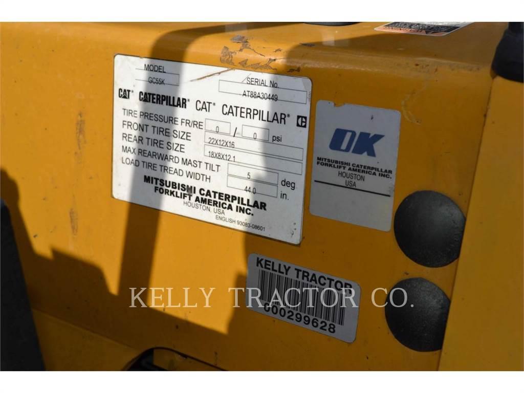 Caterpillar LIFT TRUCKS GC55K, forklifts, Material Handling