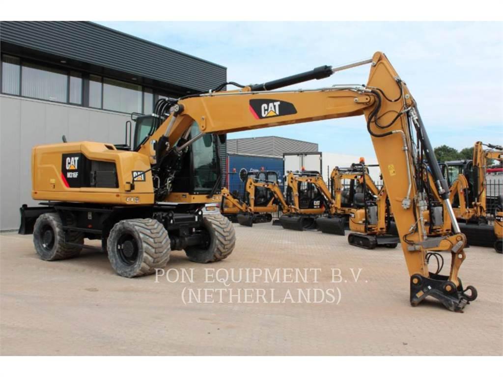 Caterpillar M 316 F, excavadoras de ruedas, Construcción
