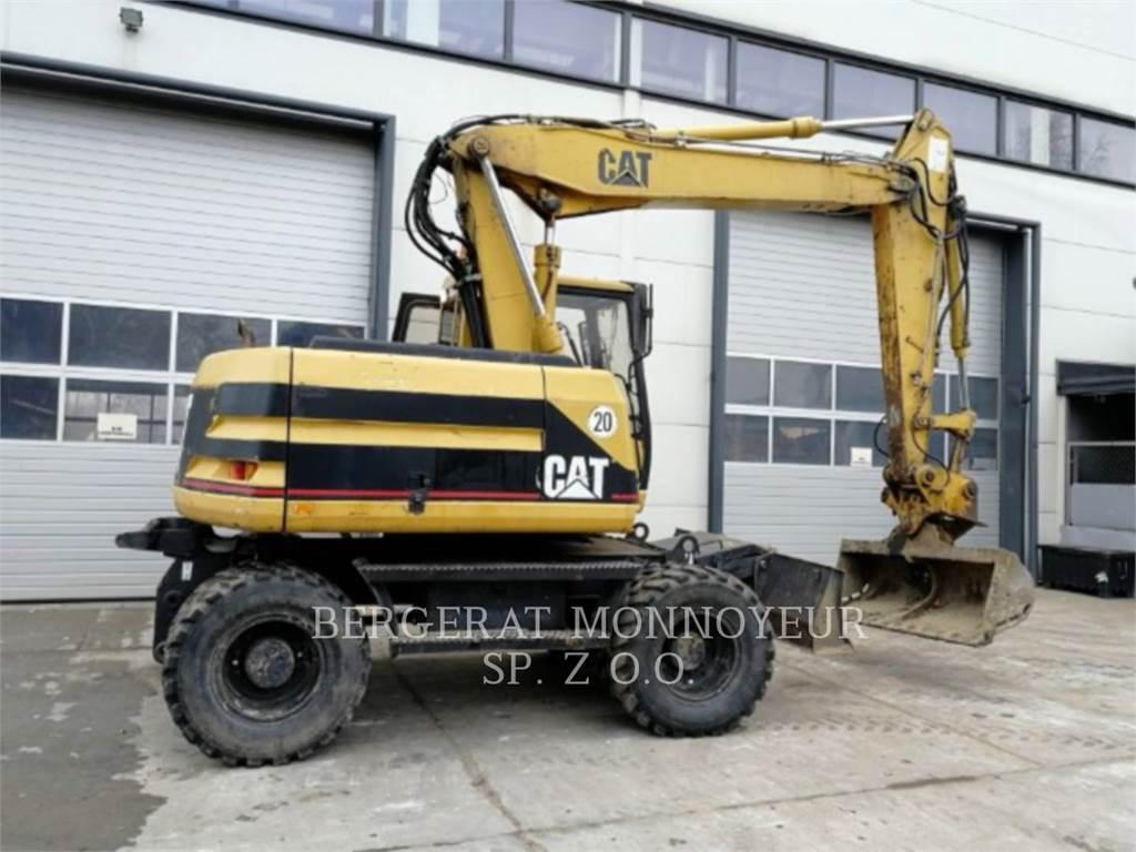 Caterpillar M312, pelles sur pneus, Équipement De Construction