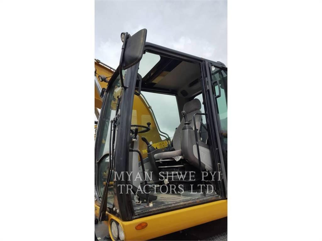 Caterpillar M313 D, wheel excavator, Construction
