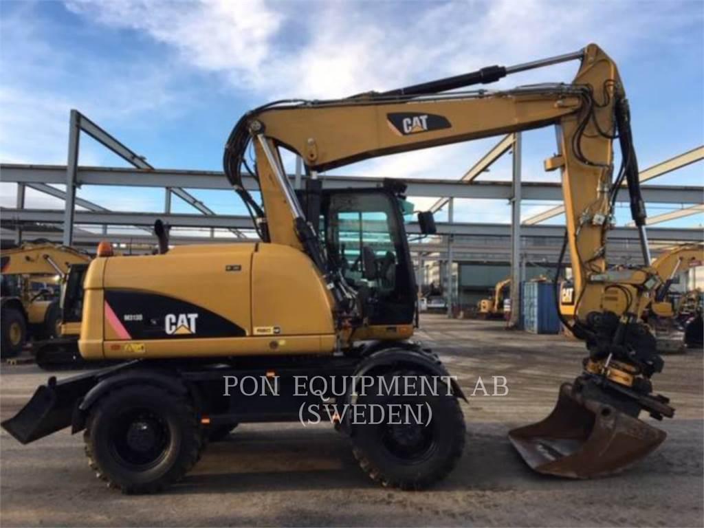 Caterpillar M313 D, escavadeiras de rodas, Equipamentos Construção