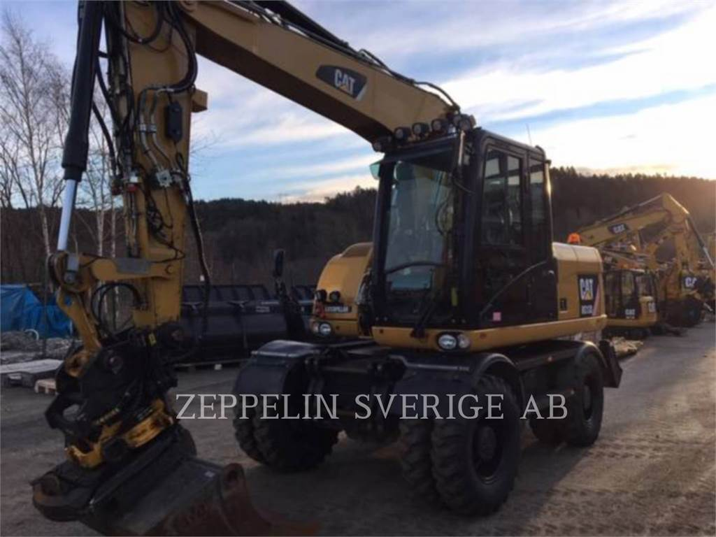 Caterpillar M313 D, wheel excavator, Construction