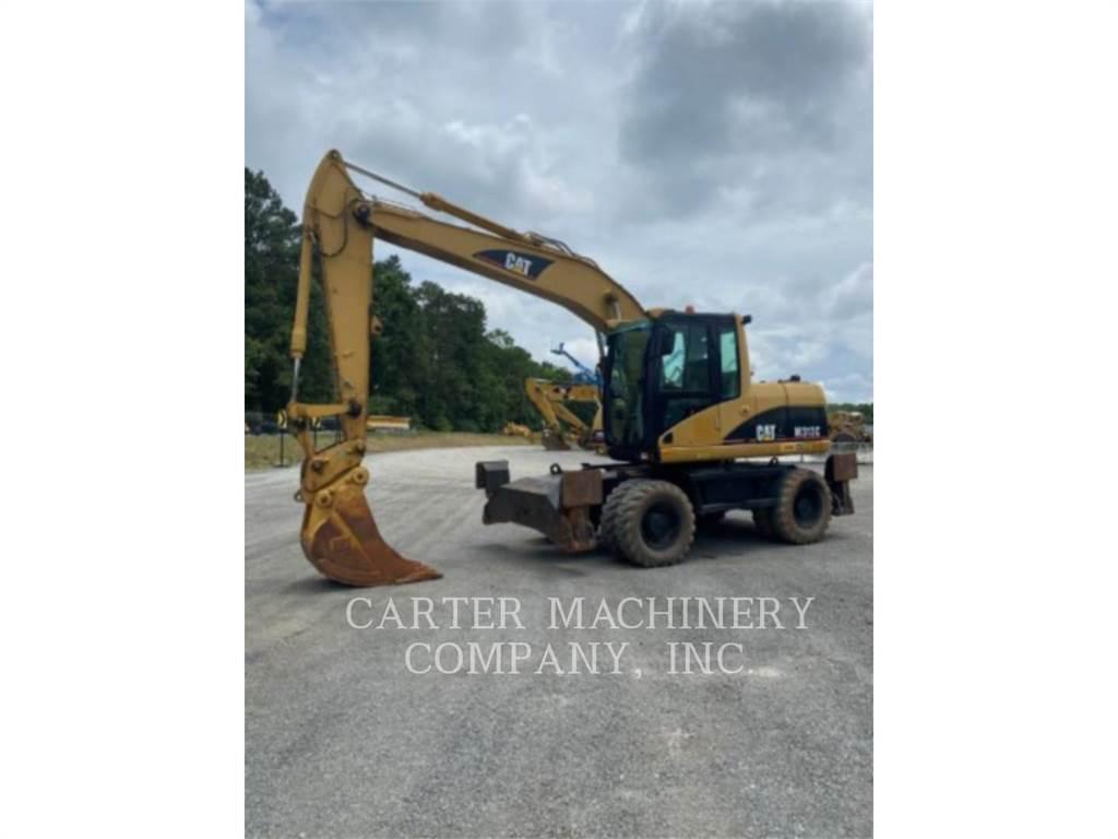 Caterpillar M313C, escavatori gommati, Attrezzature Da Costruzione