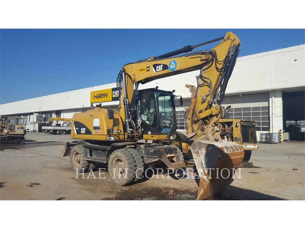 Caterpillar M313D、轮式挖掘机、建筑设备