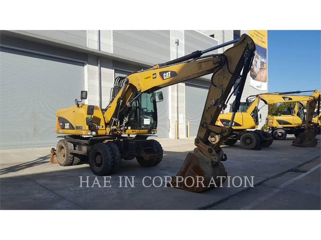 Caterpillar M313D, excavadoras de ruedas, Construcción