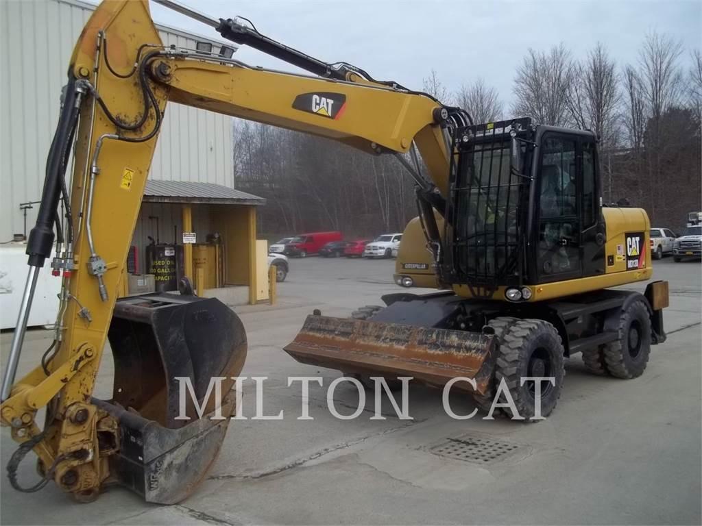 Caterpillar M313D, koparki kołowe, Sprzęt budowlany